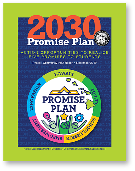 2030 Promise Plan, first draft