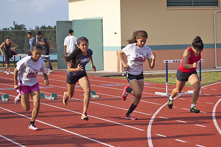 Keaau Girls Track Team