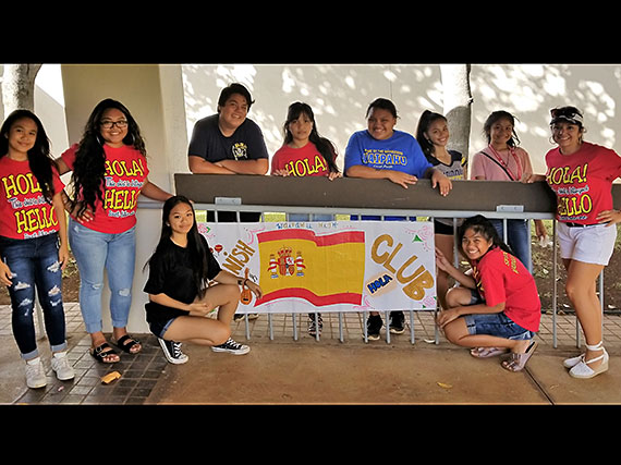 Waipahu High Spanish Club.