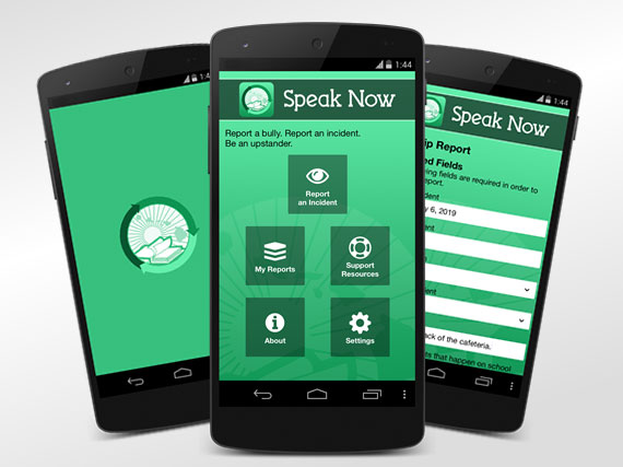 Speak Now HIDOE anti-bullying app