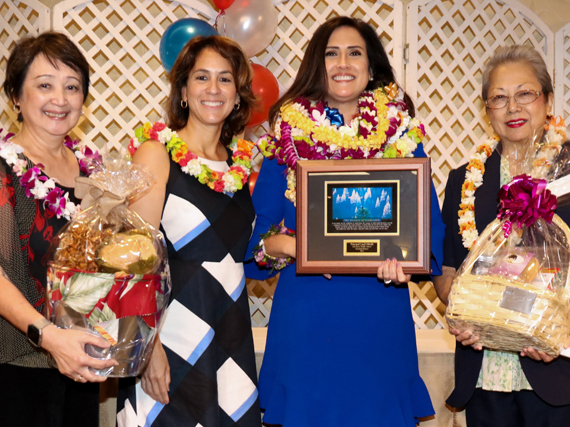 Linell Dilwith and HIDOE leadership