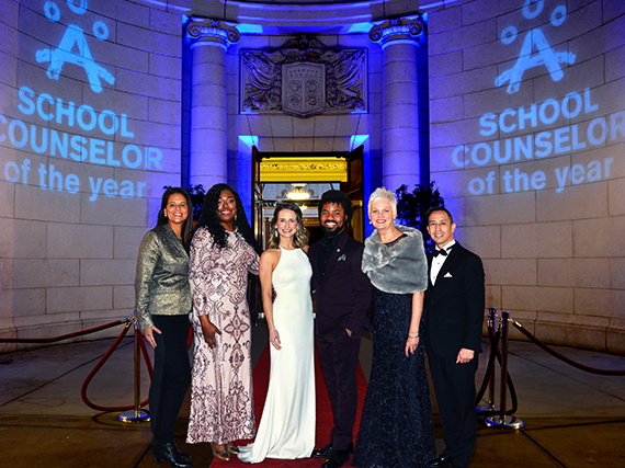 2019 School Counselor of the Year and finalists