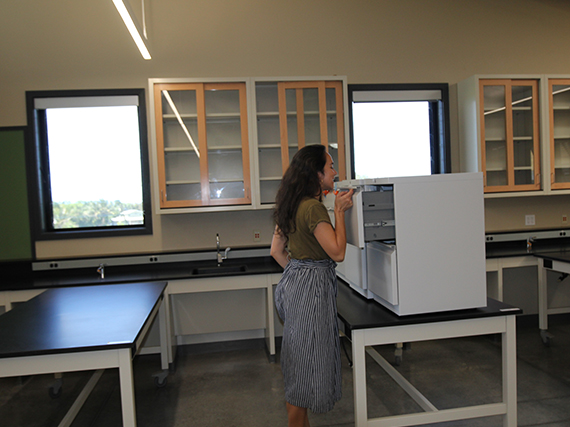 Kohala High School's New STEM Building