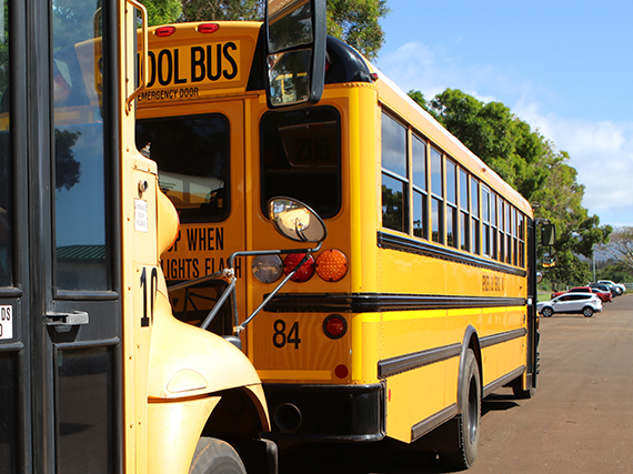 Photo of school bus.