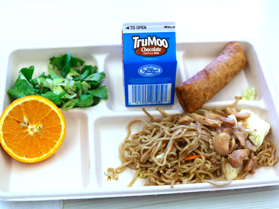 Noodle School Lunch